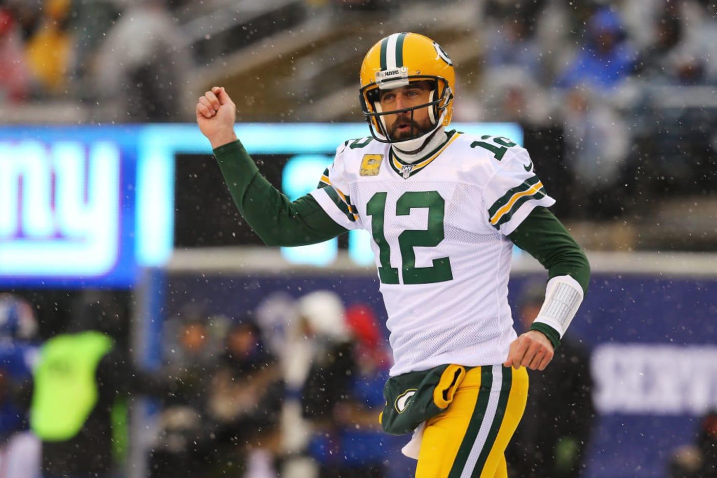 Aaron Rogers MetLife Giants Packers 2019