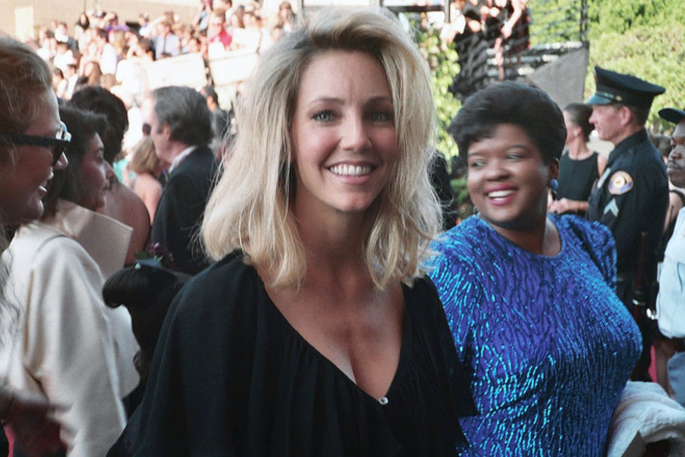Heather Locklear at the 1993 Emmy Awards