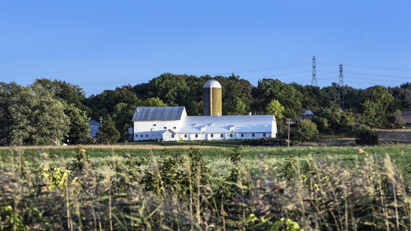 Rustic farm in Ohio