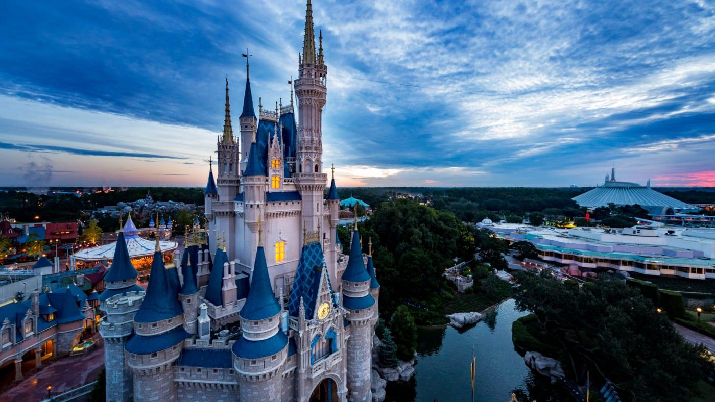 In this handout photo provided by Walt Disney World Resort, Magic Kingdom Park.