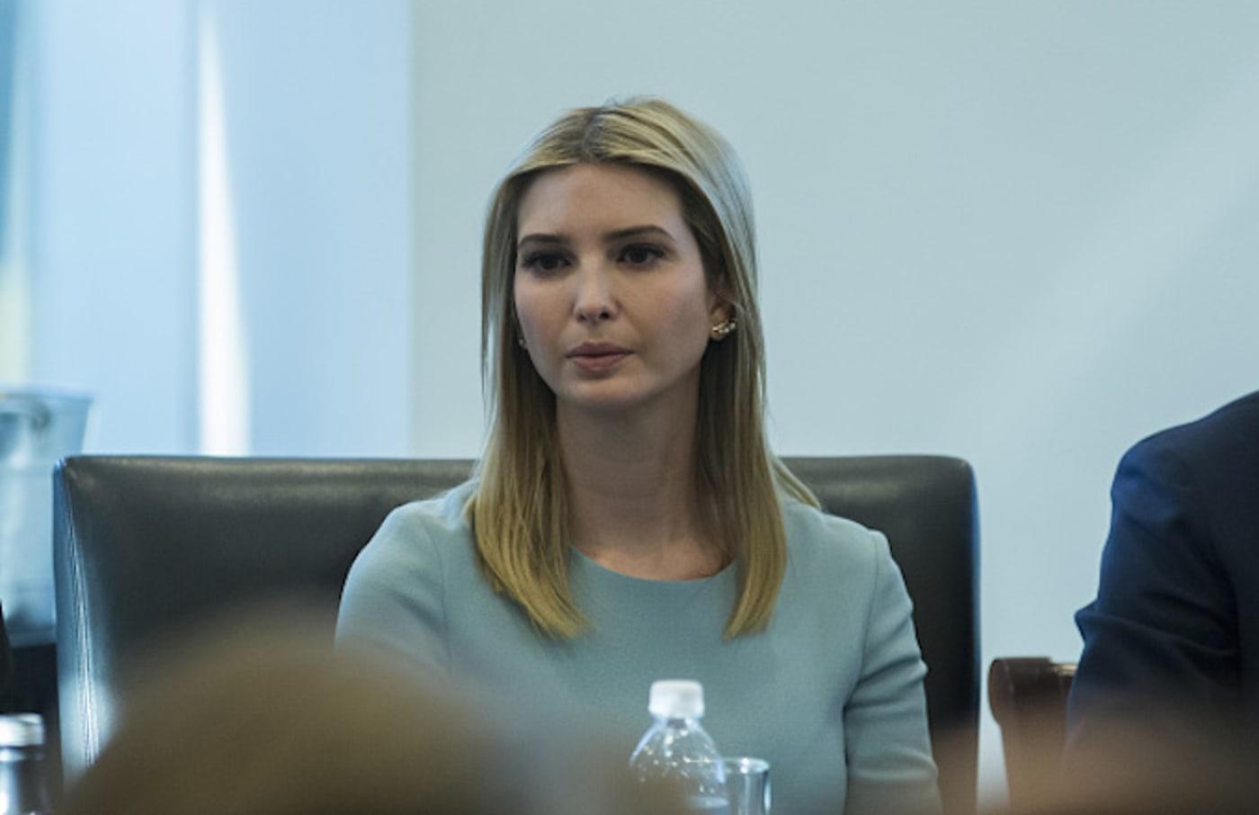 Ivanka Trump at tech meeting.