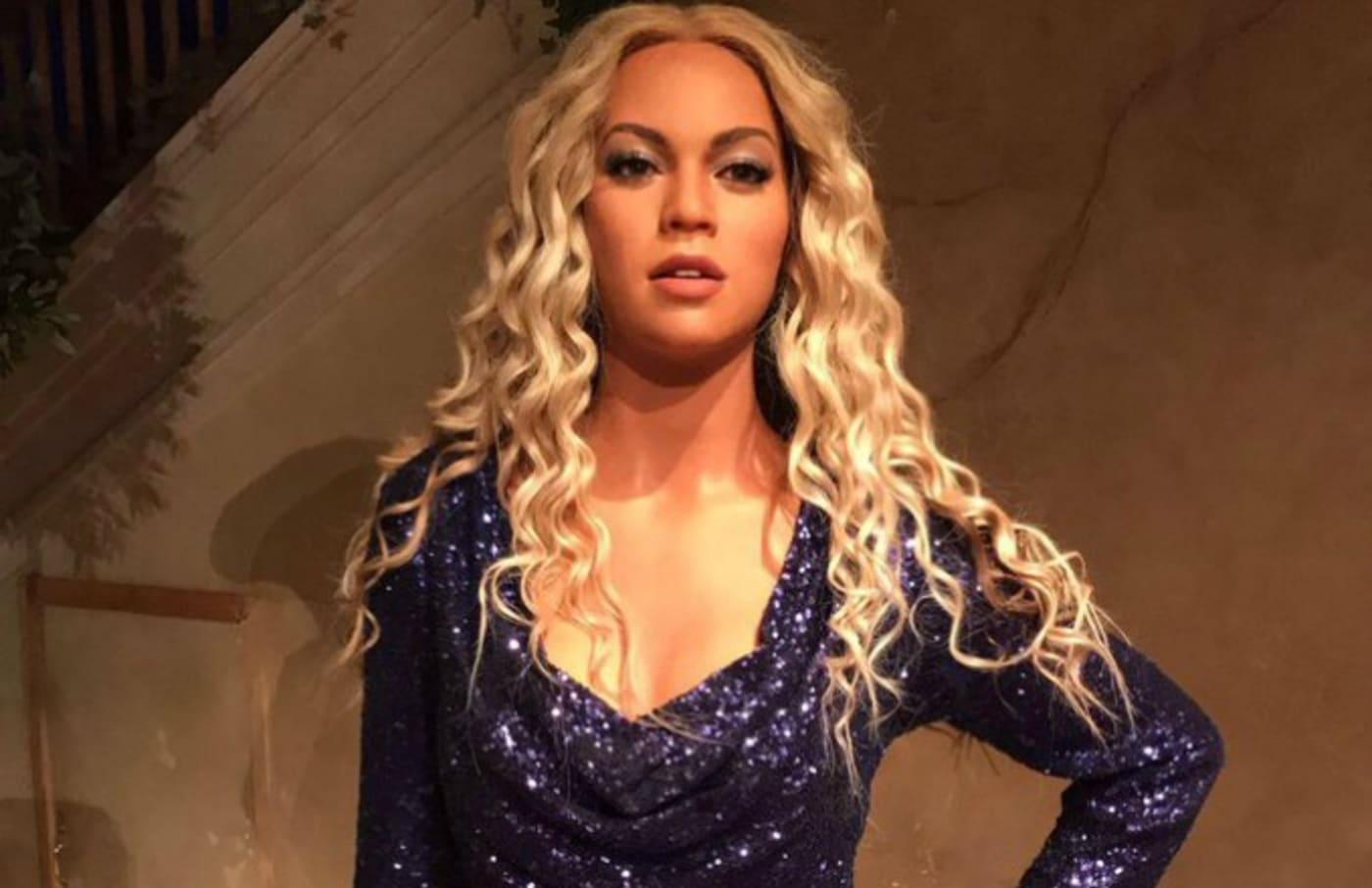 Beyoncé wax figure.