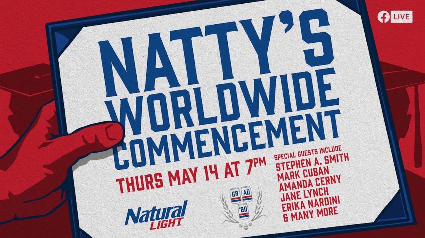 Natty Light College Graduation Commencement