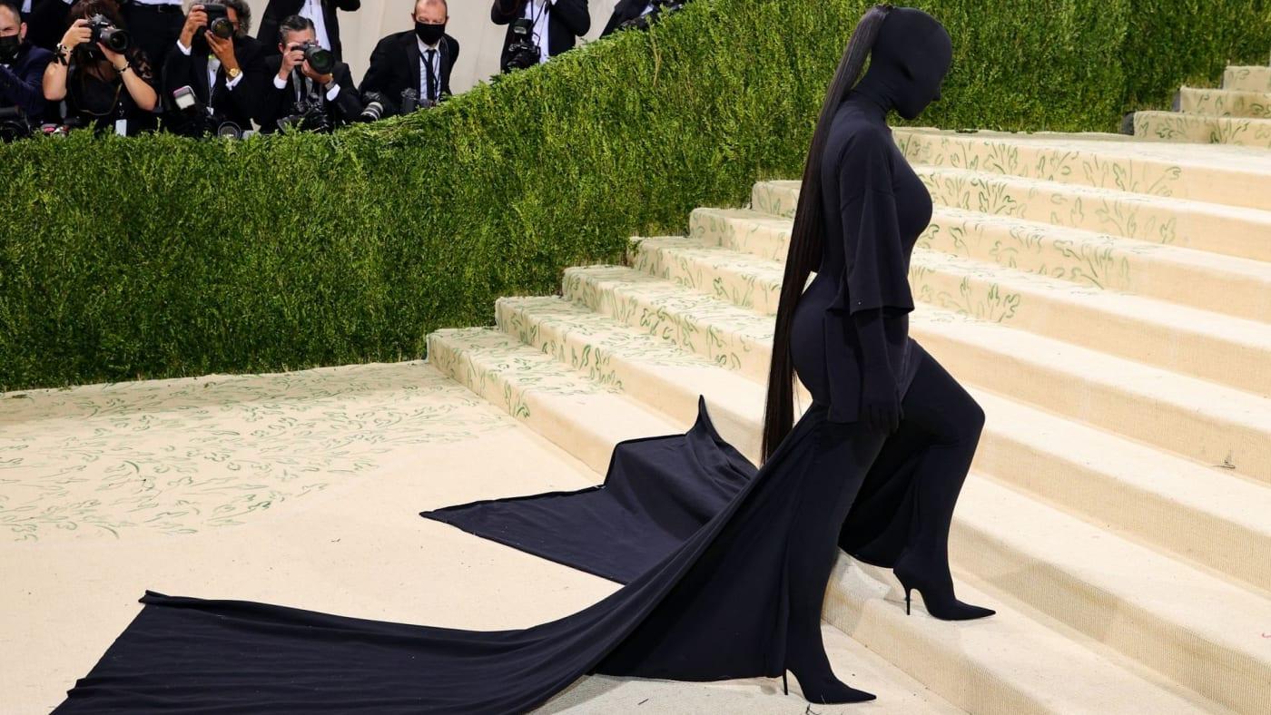 Kim met gala