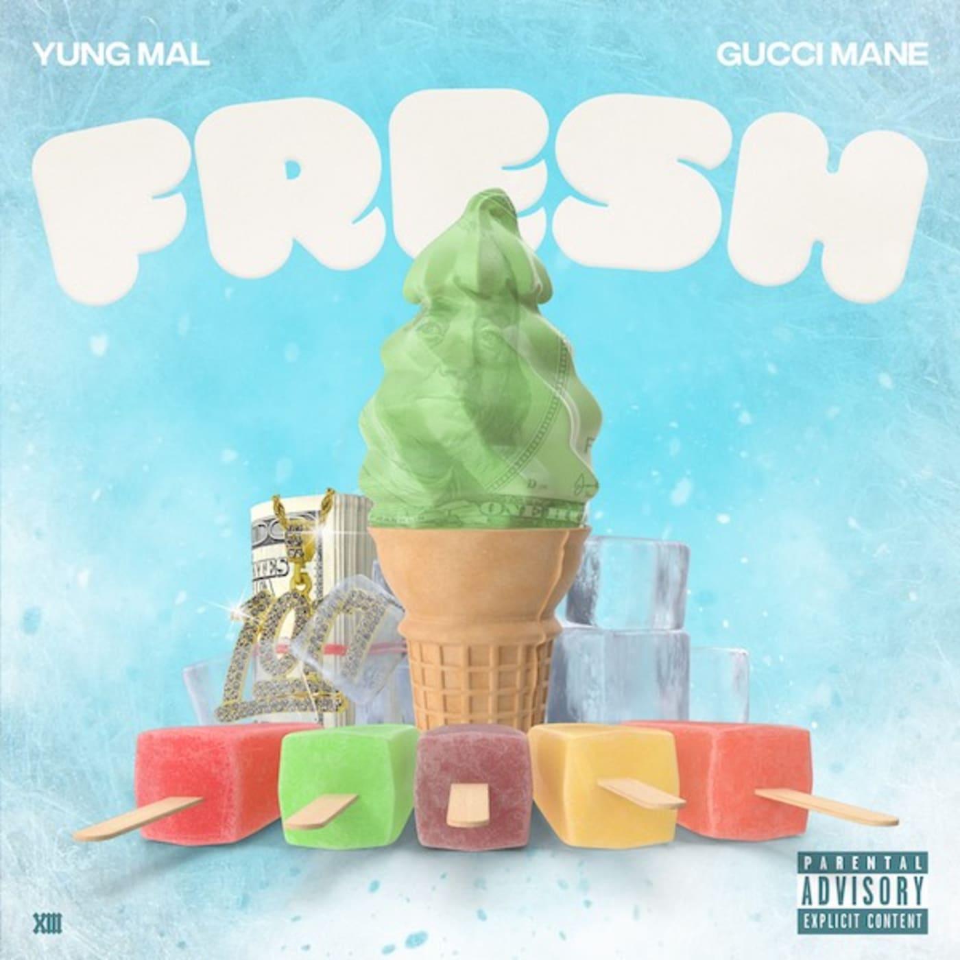 """Yung Mal """"Fresh"""" f/ Gucci Mane"""