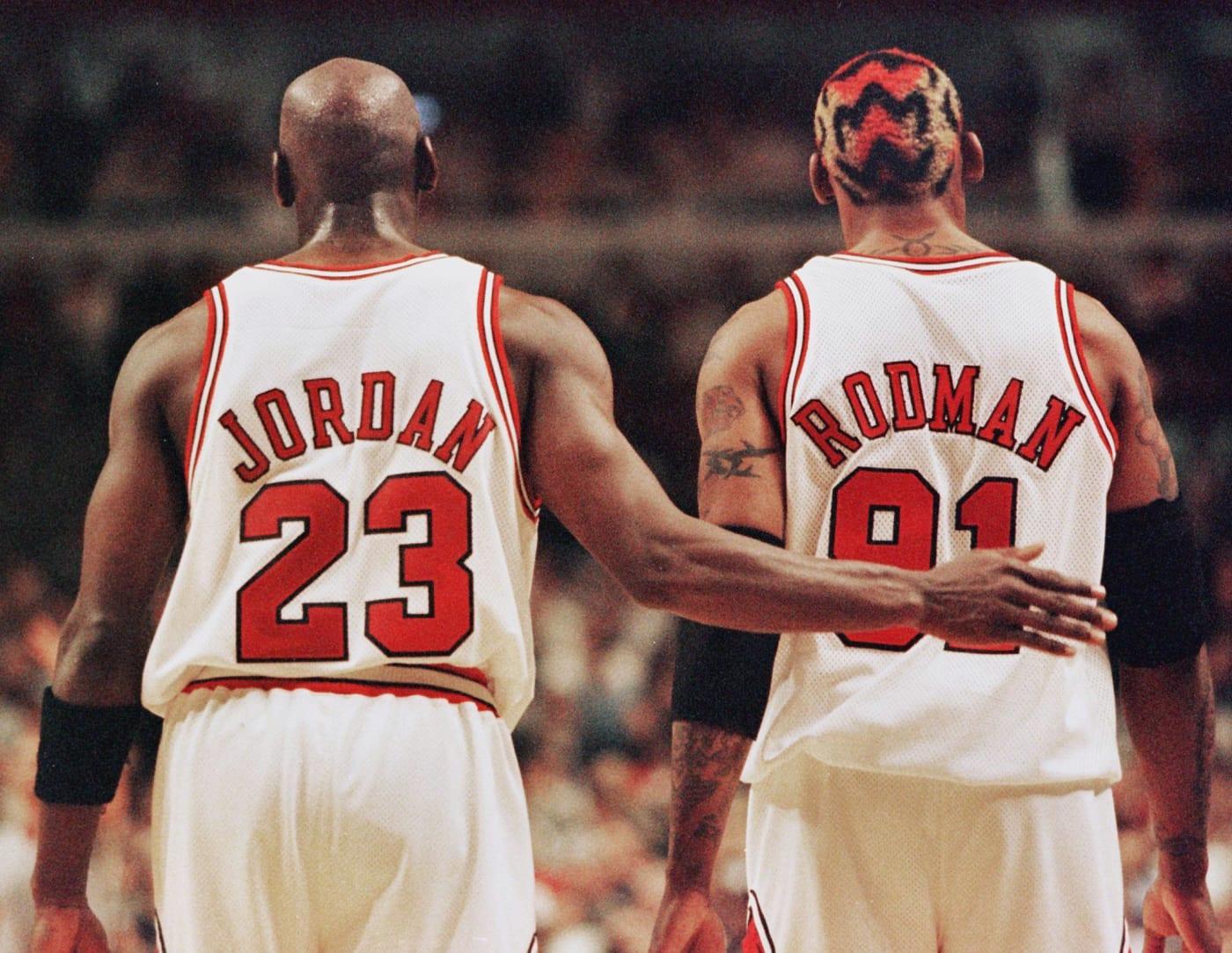 Michael Jordan Dennis Rodman