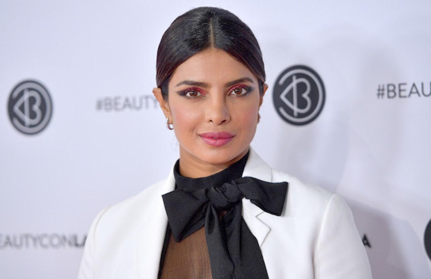 Priyanka Chopra attends Beautycon Los Angeles 2019 Pink Carpet.
