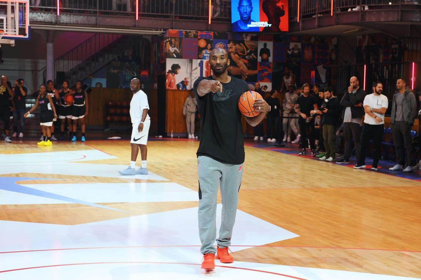 Kobe Bryant France 2017