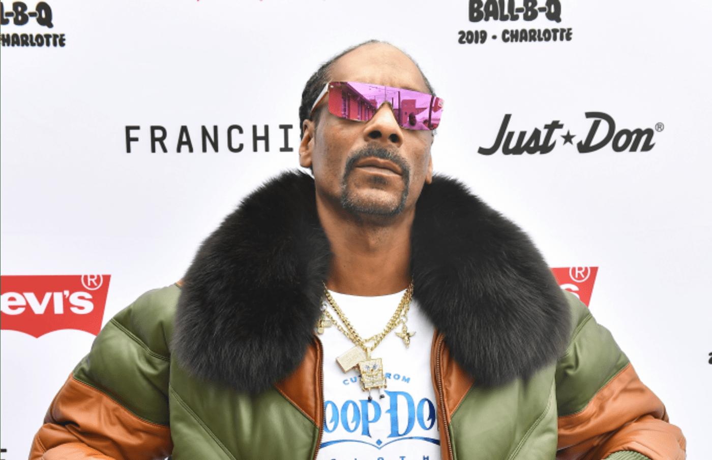 Rapper Snoop Dogg attends Levi's® All Star Weekend Ball B Q