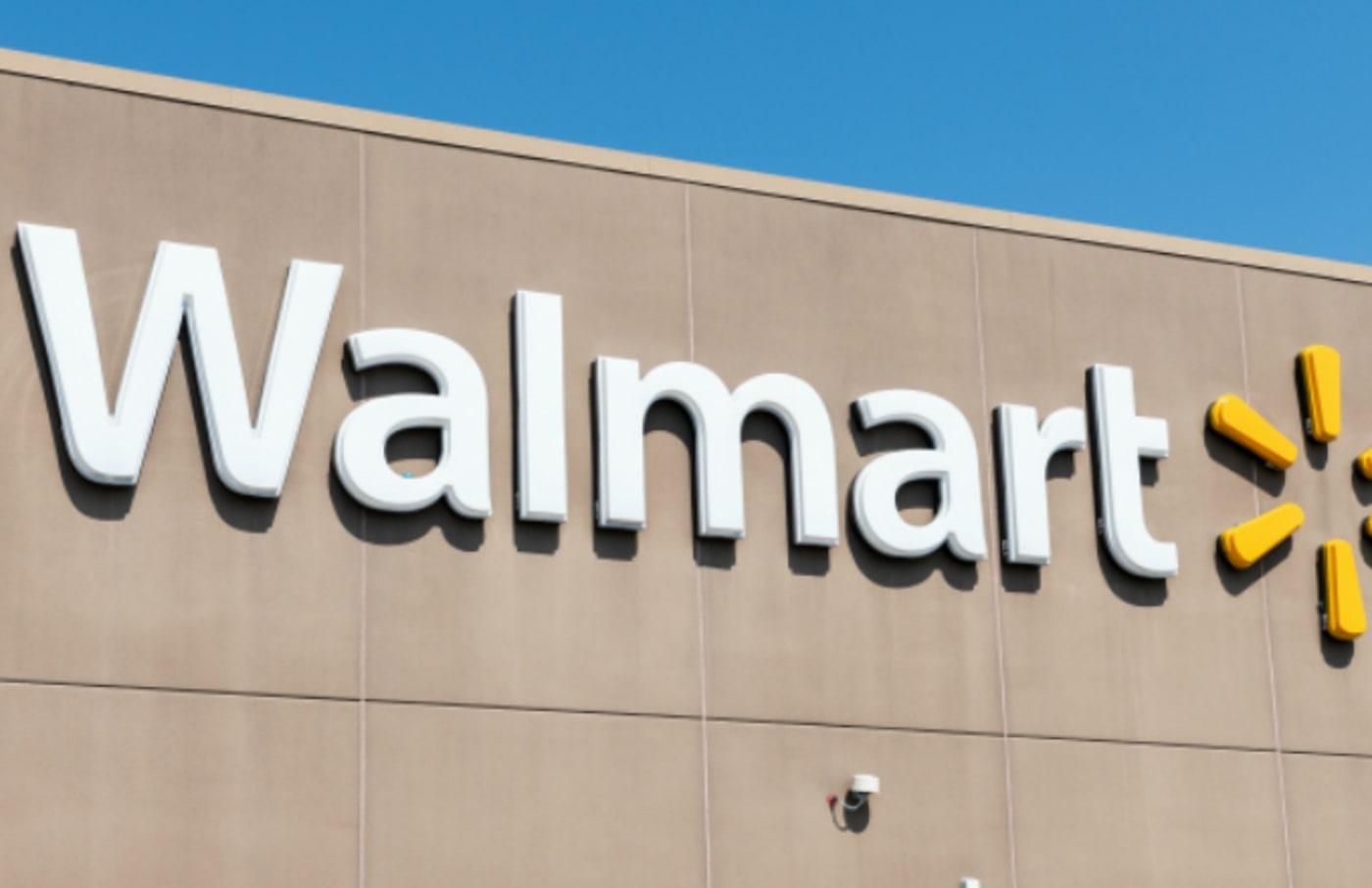 Walmart store in Teterboro, New Jersey