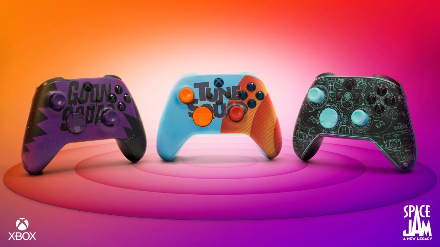 Space Jam: A New Legacy Xbox Wireless Controllers