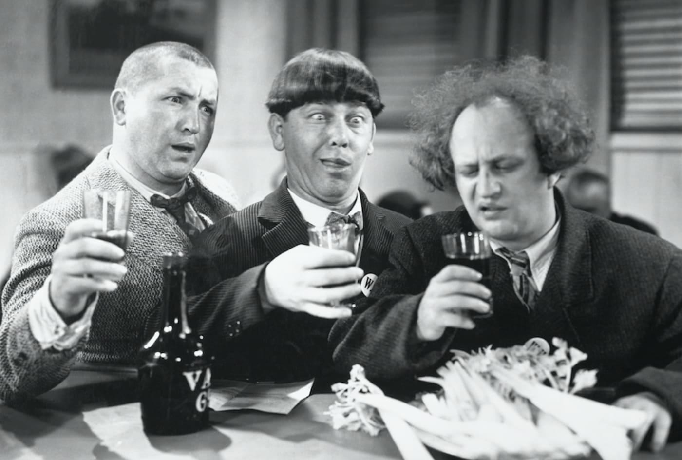 funniest tv comedies three stooges