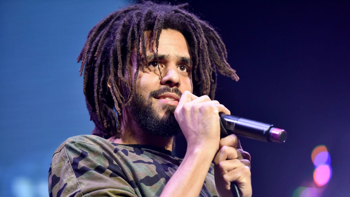 J Cole performs onstage during the Real 92.3 Real Show.