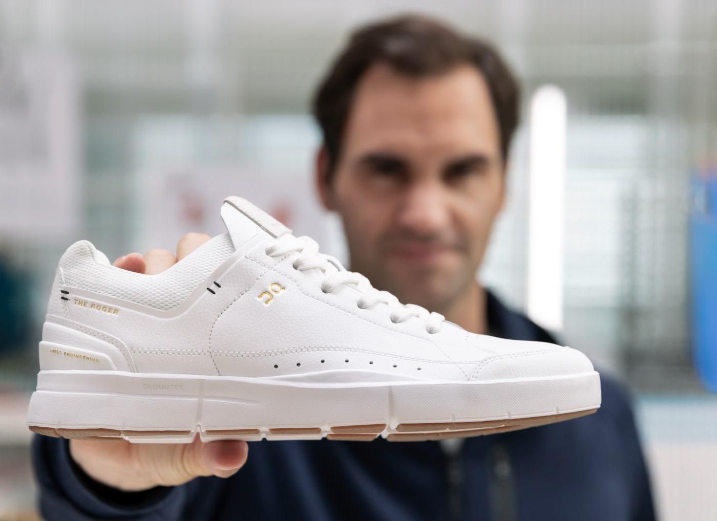 Roger Federer On Sneakers 01