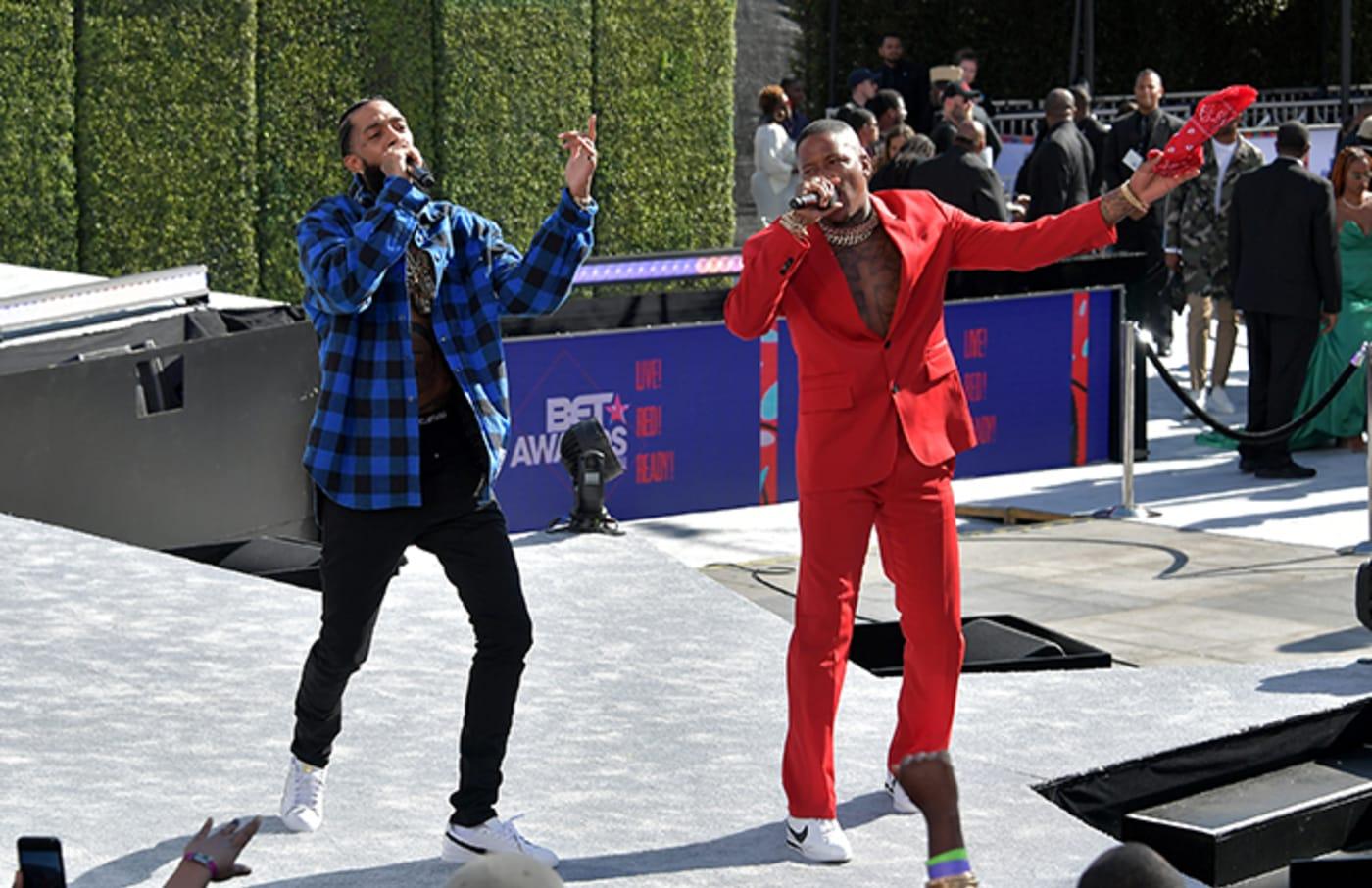 YG and Nipsey Hussle