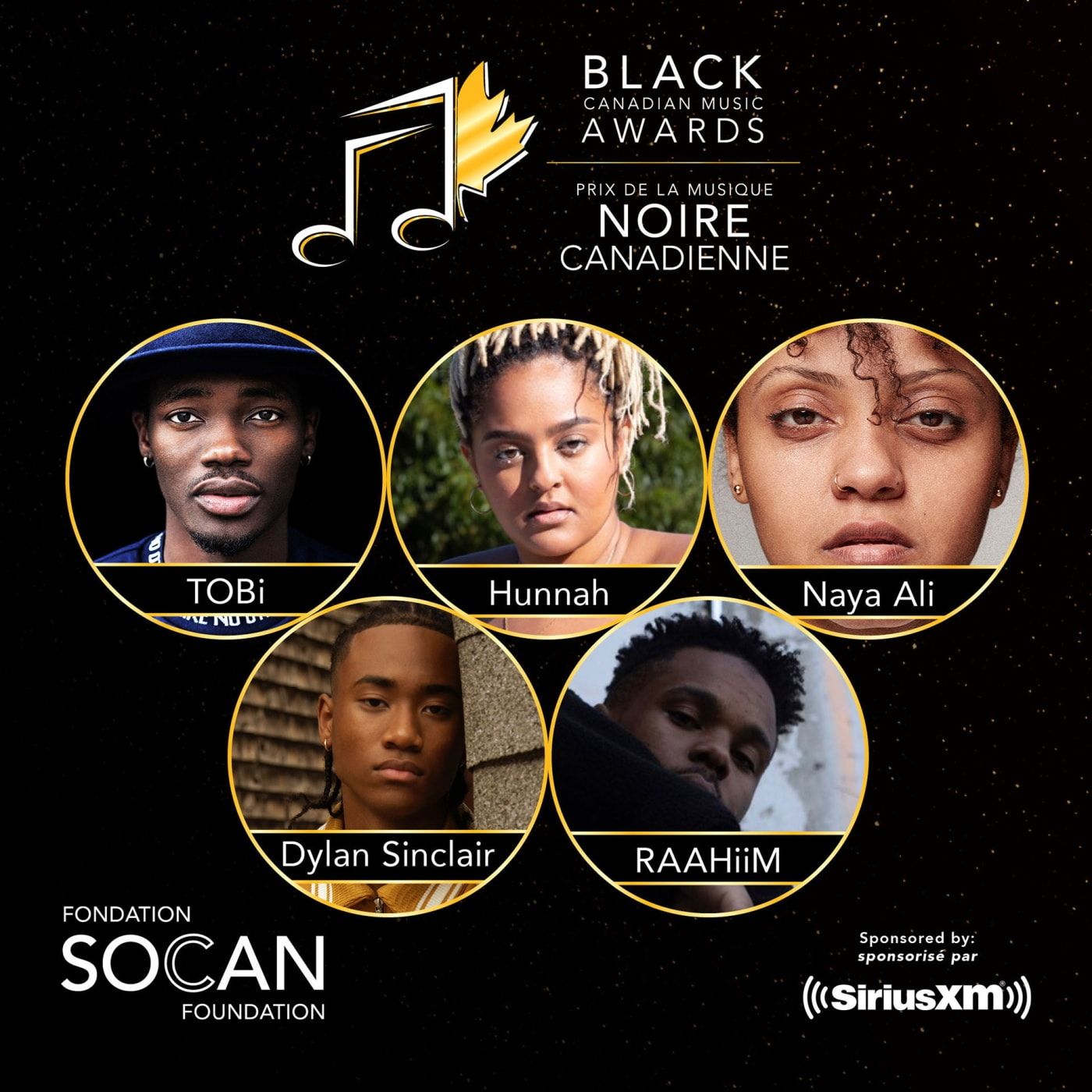 black canadian music awards