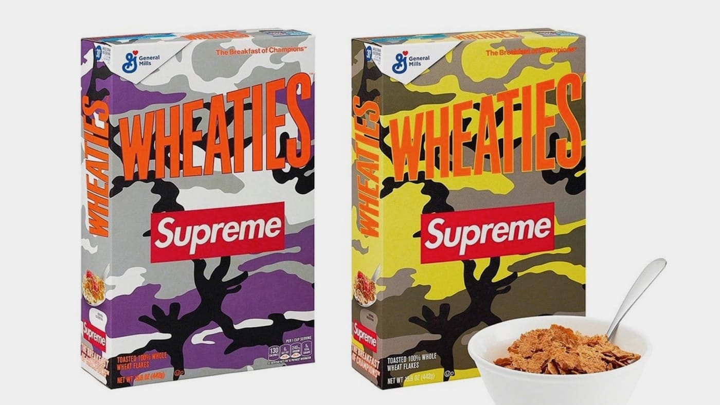Supreme x Wheaties