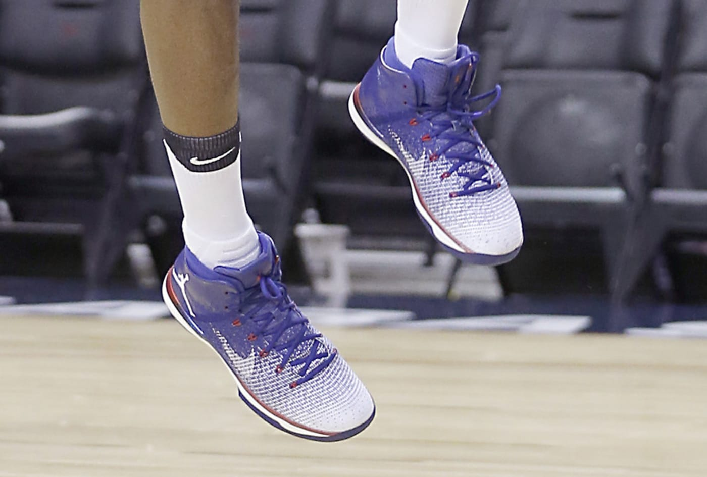 Jimmy Butler Debuts New Jordans at Practice