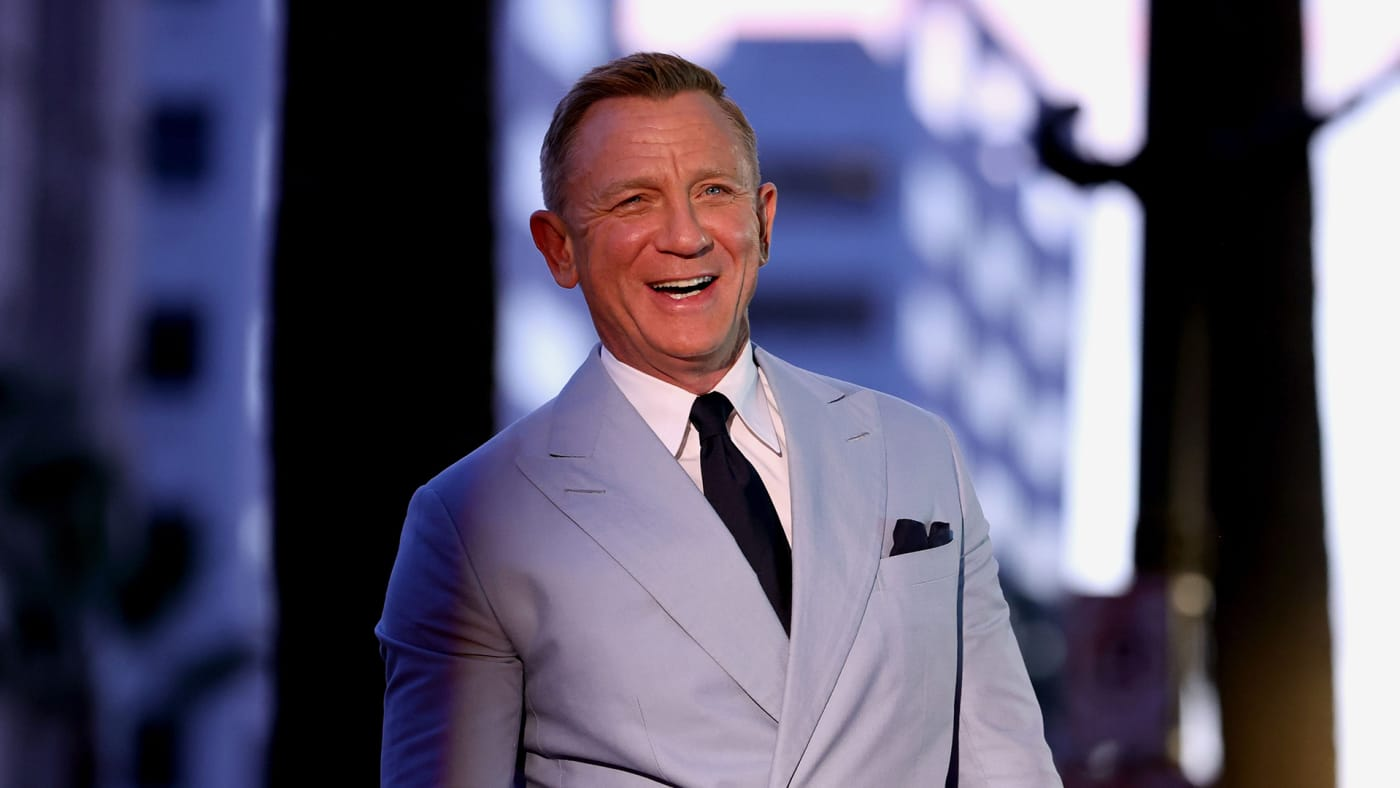 Daniel Craig attends his Hollywood Walk of Fame Star Ceremony