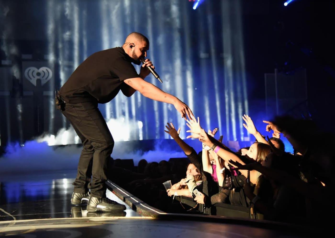 Drake Wearing Master Air Jordan 12s