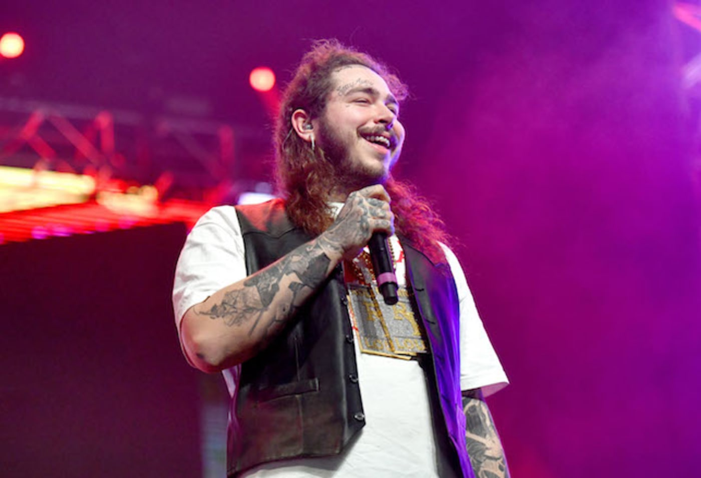 Post Malone at Rolling Loud