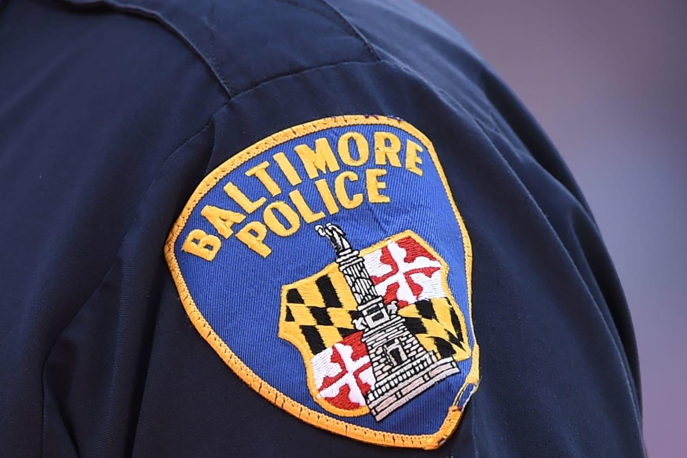 Baltimore Police badge