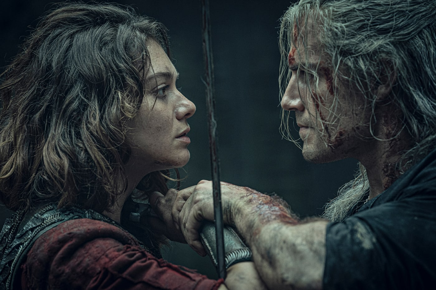 Production still from Netflix series 'The Witcher'