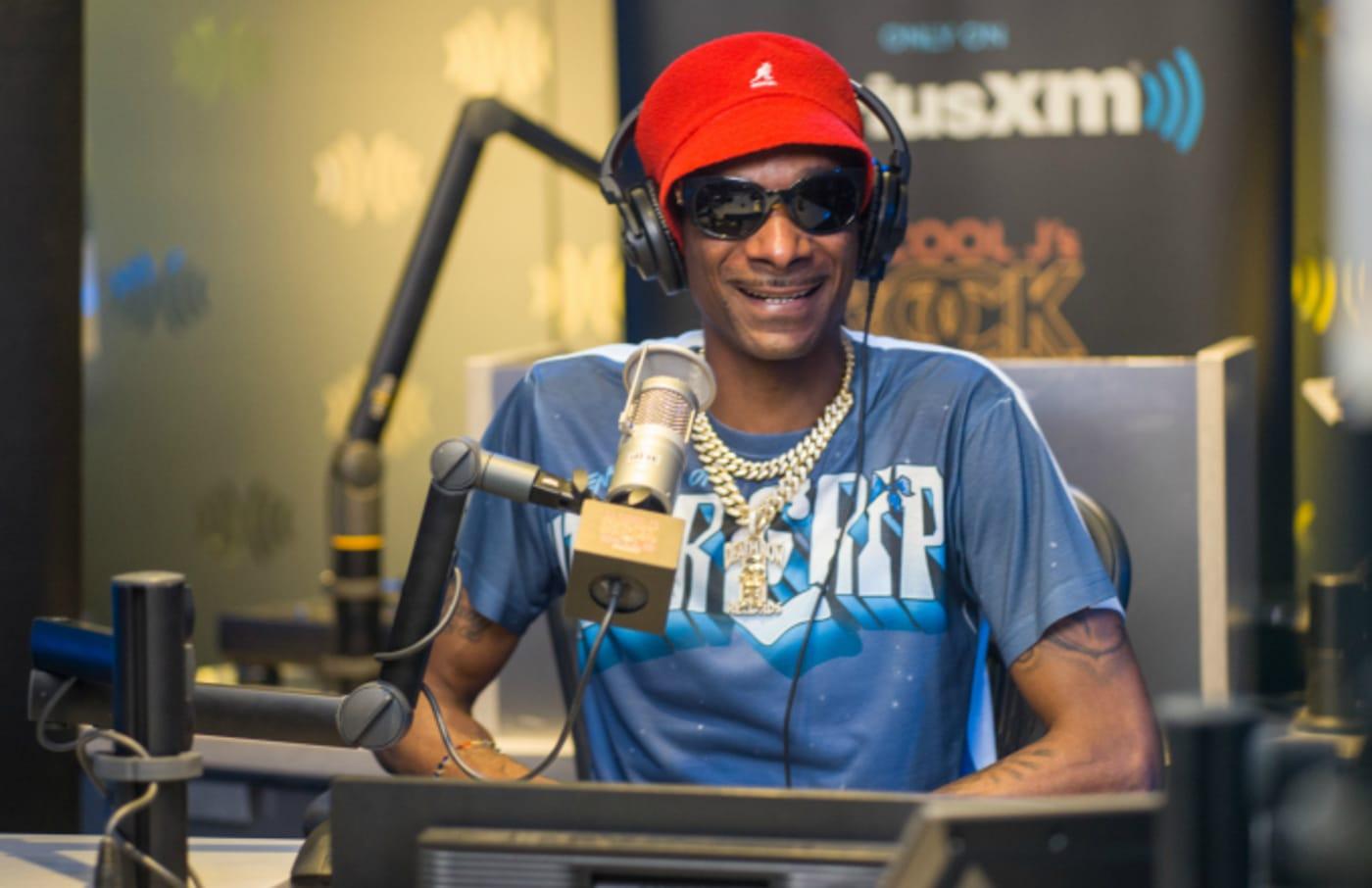 Snoop Dogg visits SiriusXM Studios