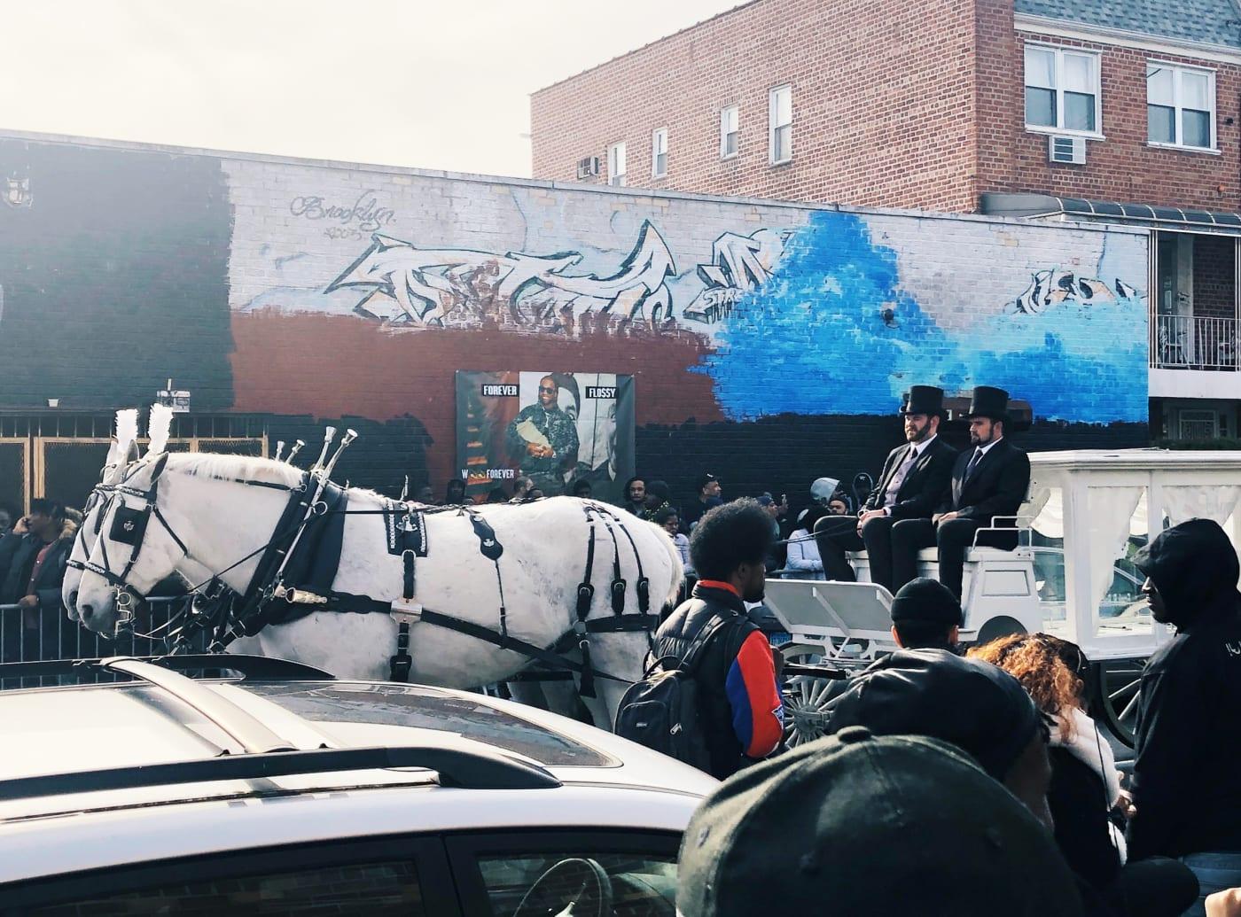 Pop Smoke procession in Canarsie