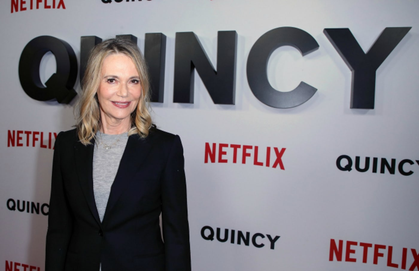 "Peggy Lipton attends the premiere of Netflix's ""Quincy"" at Linwood Dunn Theater"