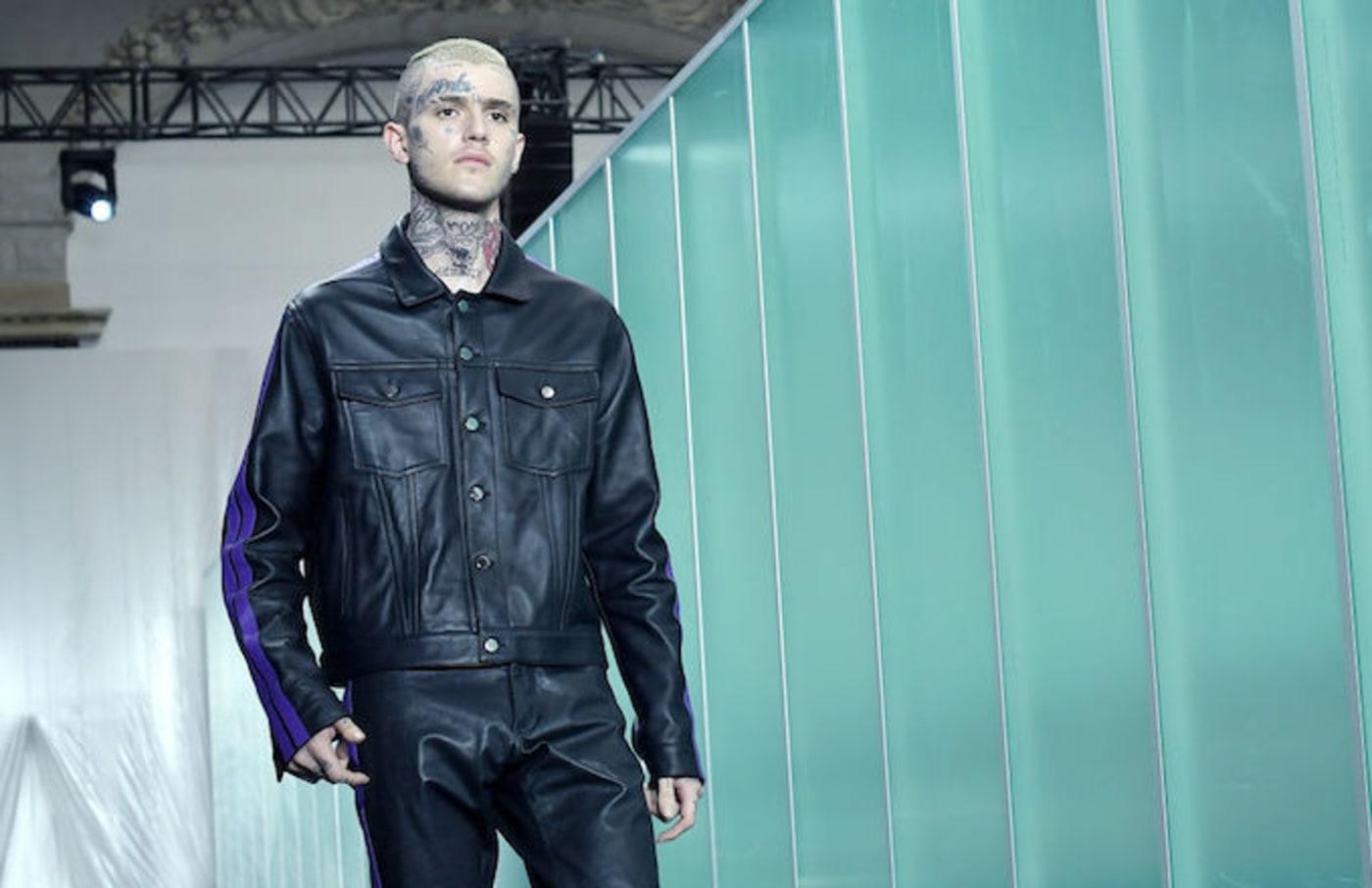 Lil Peep Paris Fashion