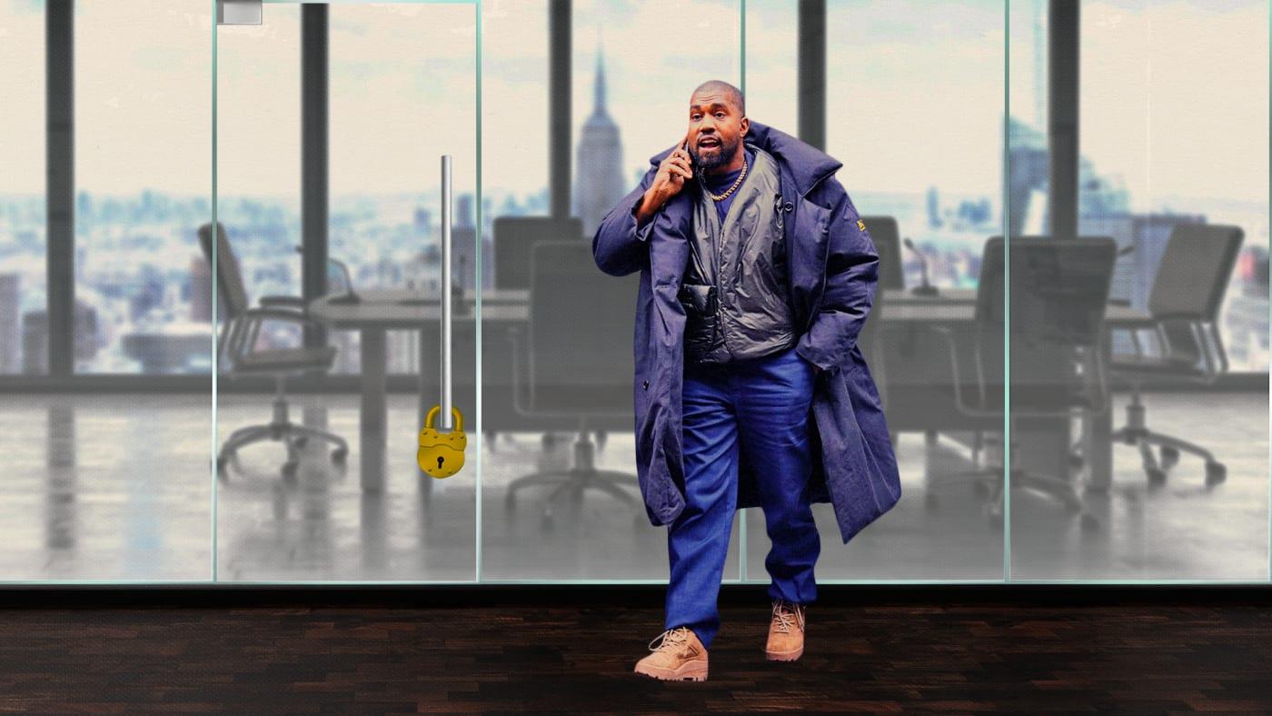 Kanye West Board Seats Gap Adidas