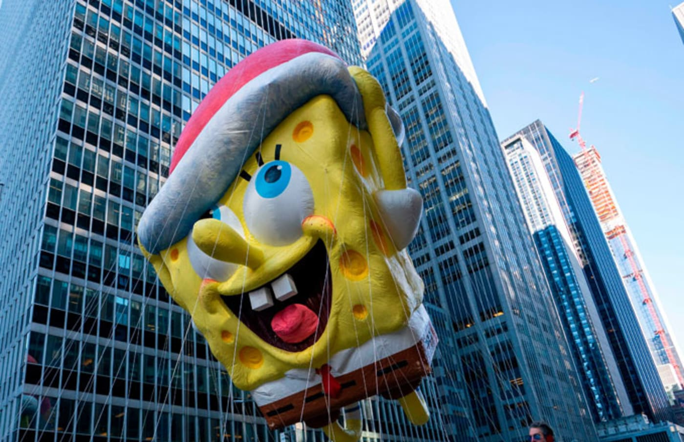 Spongebob Thanksgiving Float
