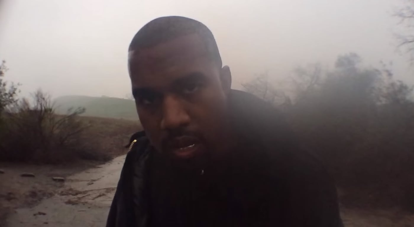 """Kanye West's """"Only One"""" video."""