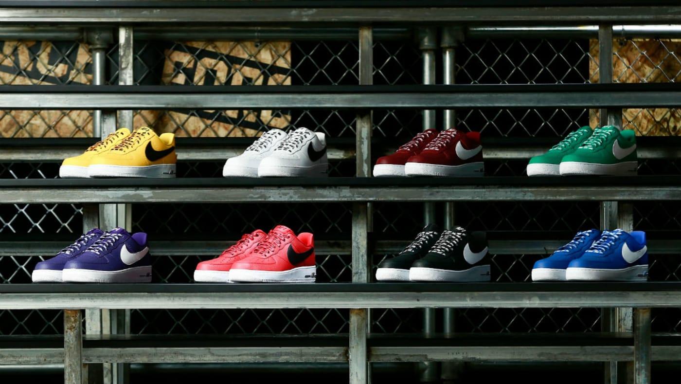 Nike Air Force 1 Low Statement Game NBA Logos