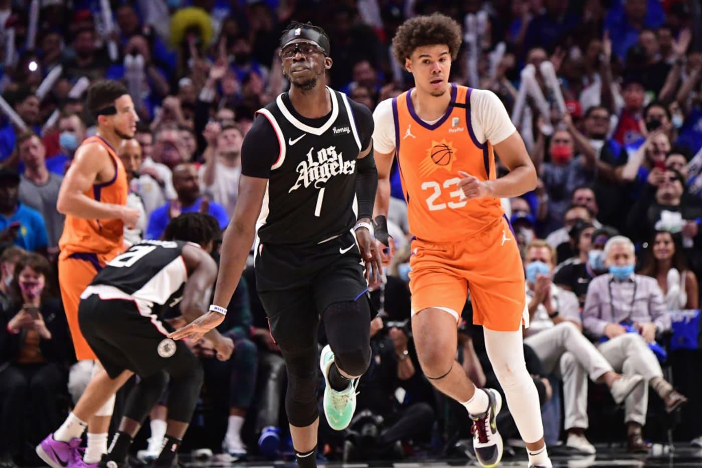 Reggie Jackson Clippers Suns Playoffs 2021
