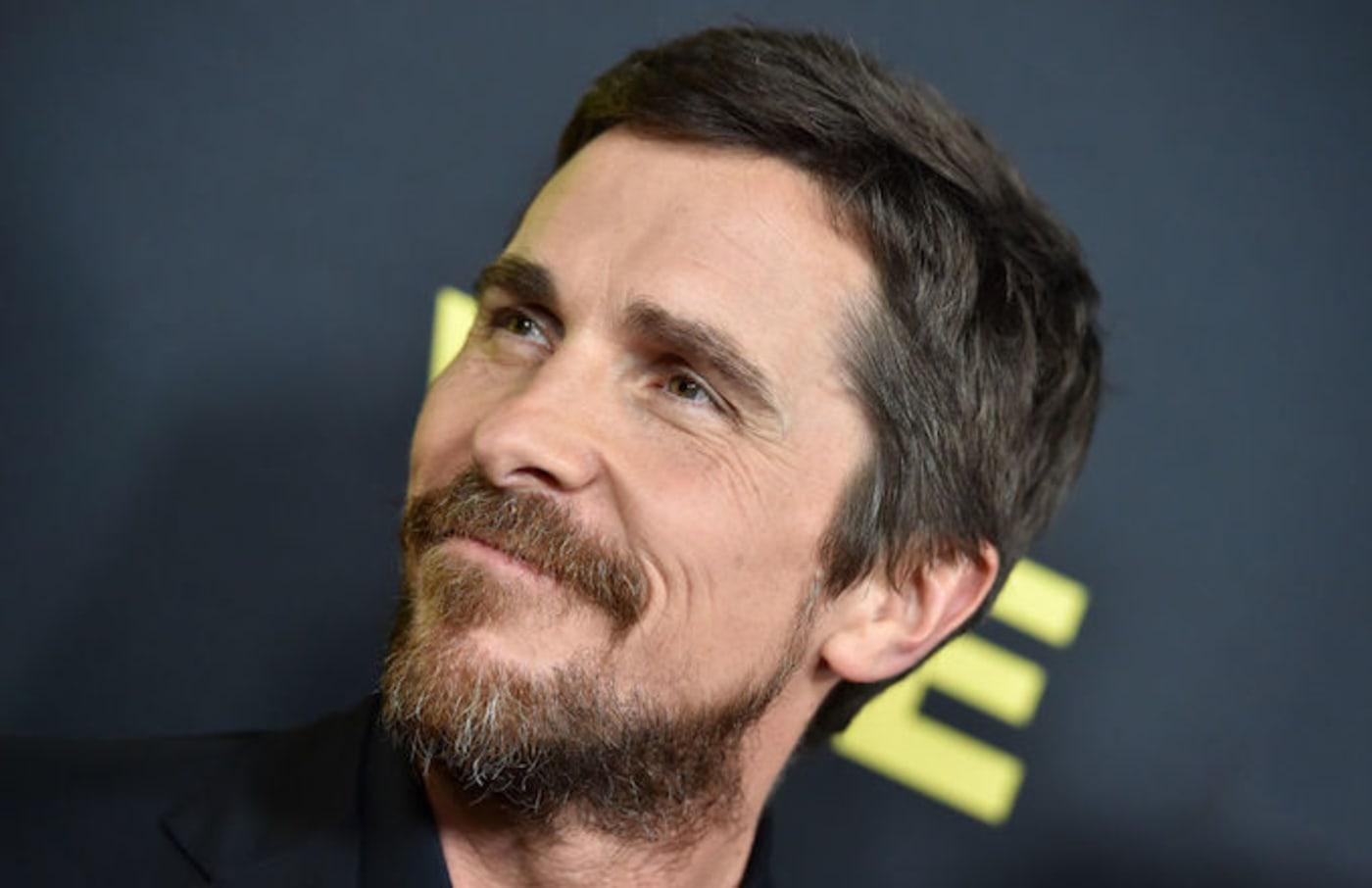 Christian Bale meeting Trump