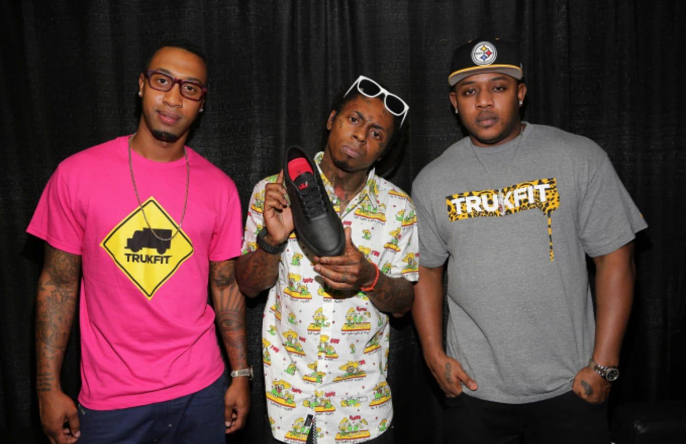 Cortez Bryant, Lil Wayne, and Mack Maine