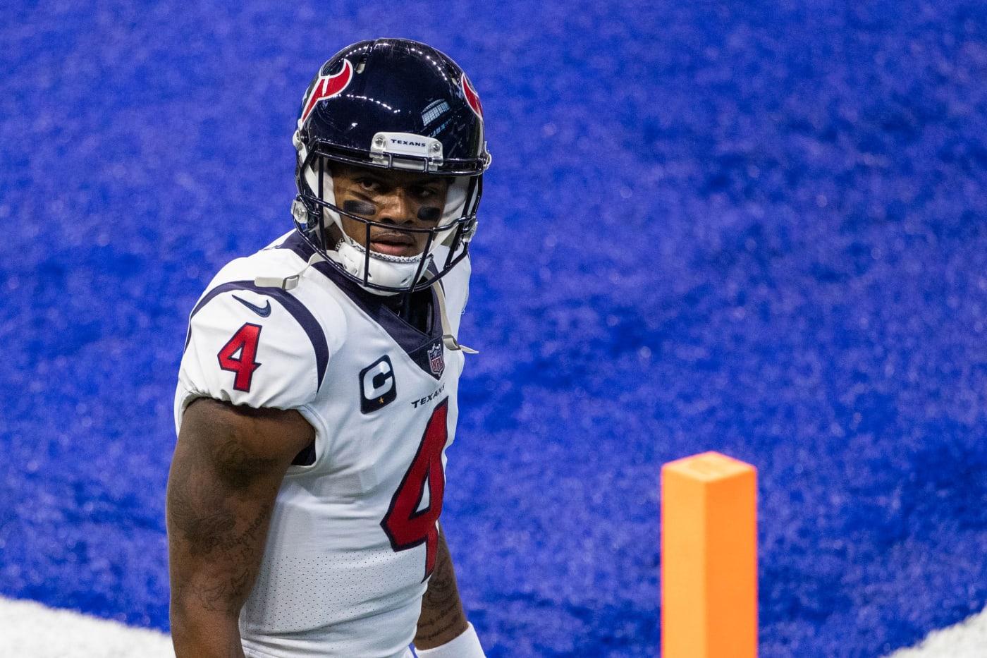 Deshaun Watson Texans Colts Endzone 2020