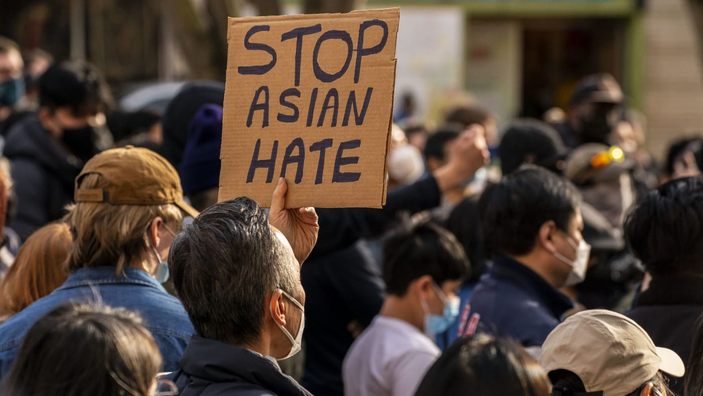 anti asian hate protest