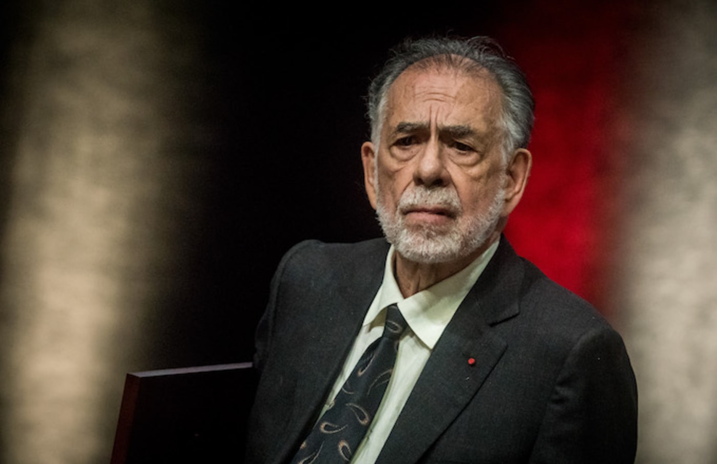 Francis Ford Coppola receives the Lumiere Award during Lumiere Film Festival.