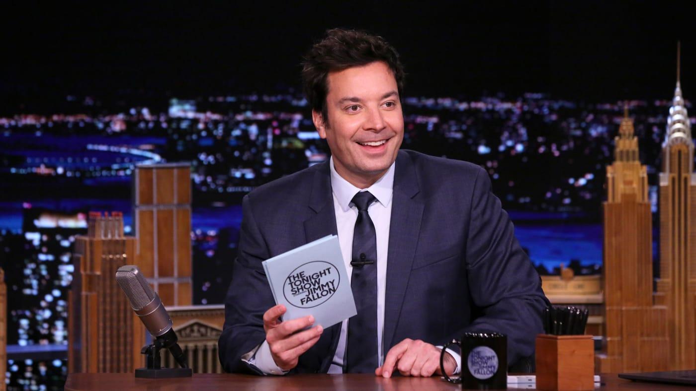 Jimmy Fallon on The Tonight Show