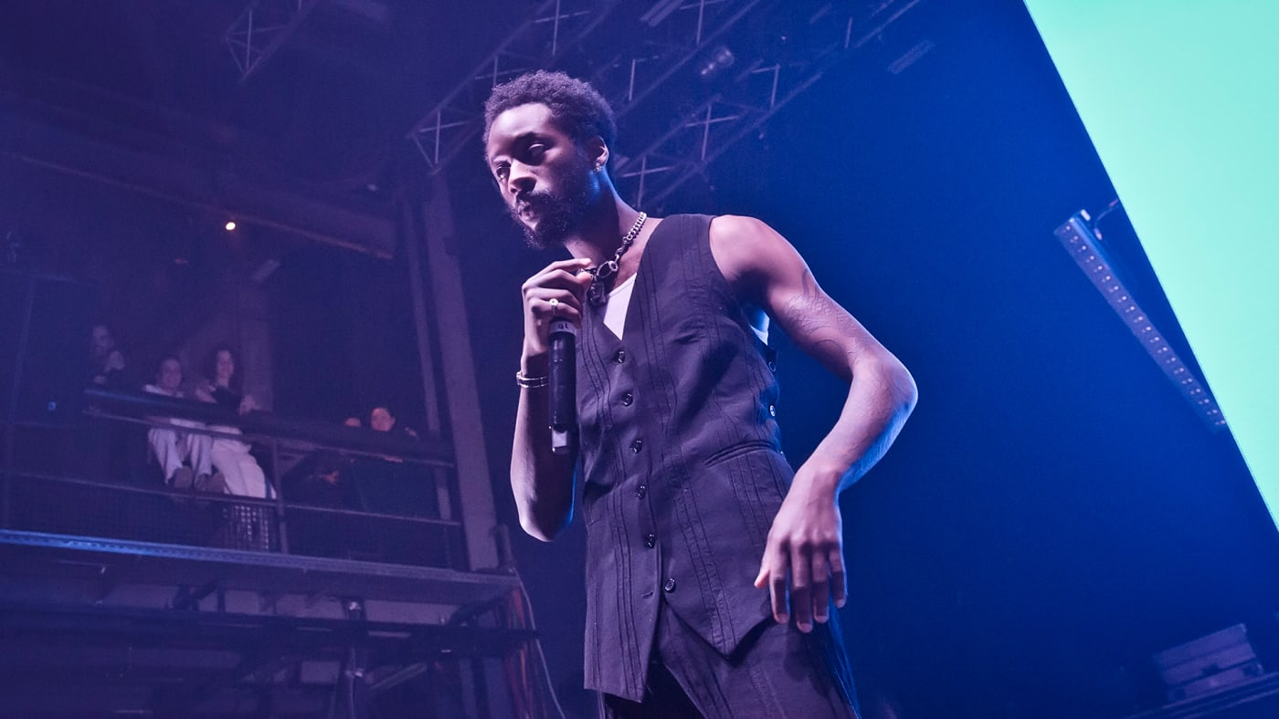 This is a photo of Goldlink.