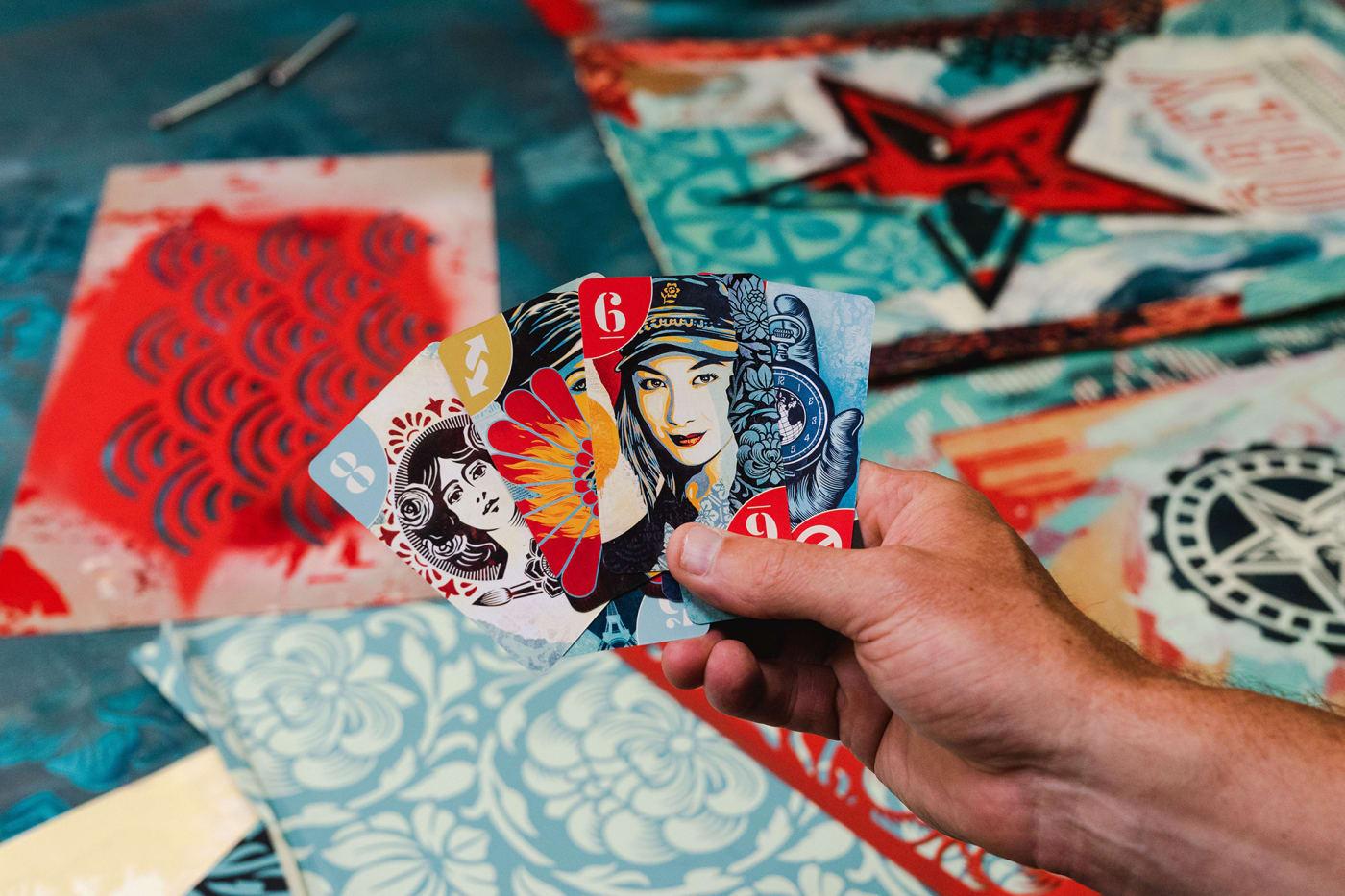 Shepard Fairey UNO Artiste Series
