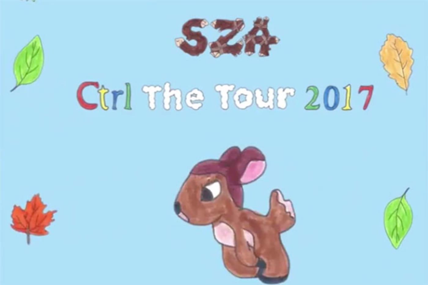 sza ctrl tour
