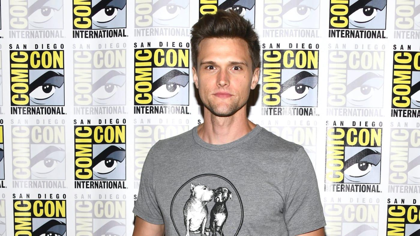Hartley Sawyer attends 2019 Comic Con International.