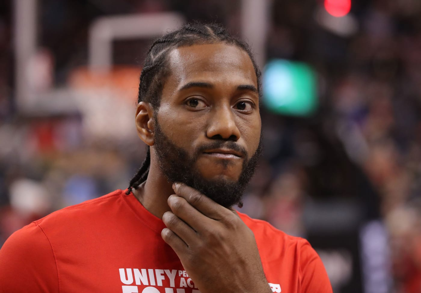Kawhi Leonard Raptors Clippers Feb 2019