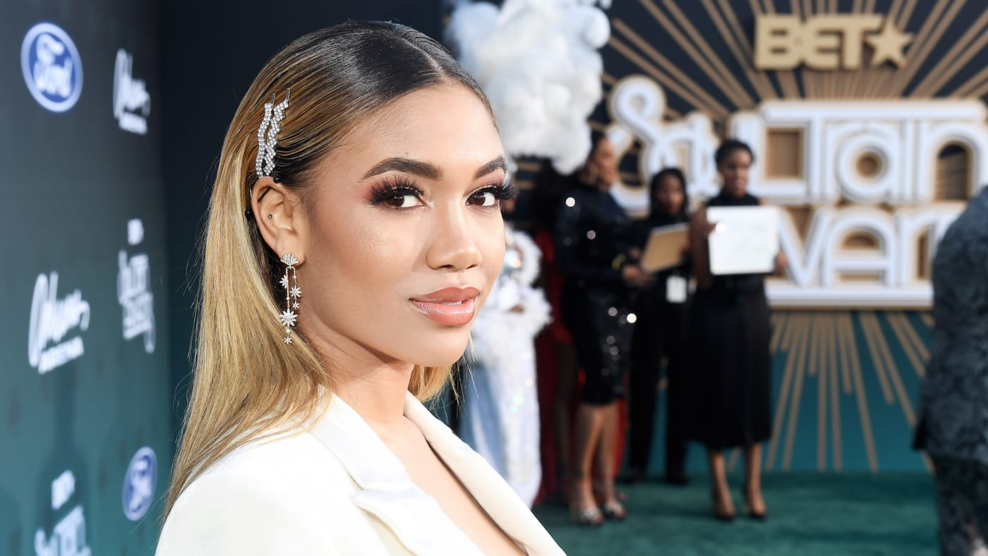 Paige Hurd attends the 2019 Soul Train Awards