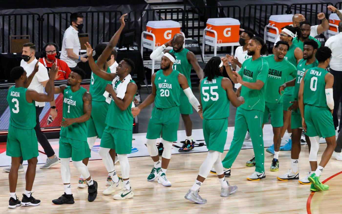 Nigeria Team USA Las Vegas 2021