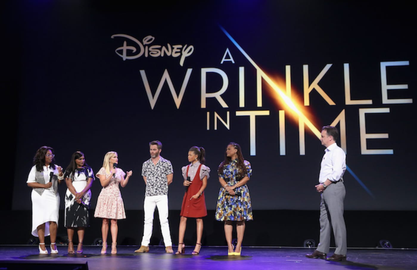 A Wrinkle in Time cast.